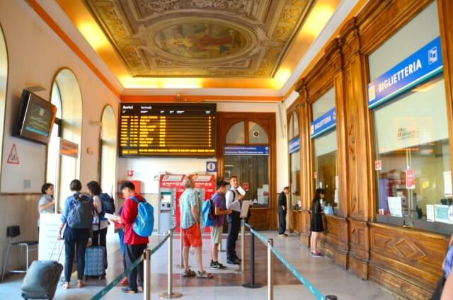 Estación de tren de La Spezia - Cinque Terre Card