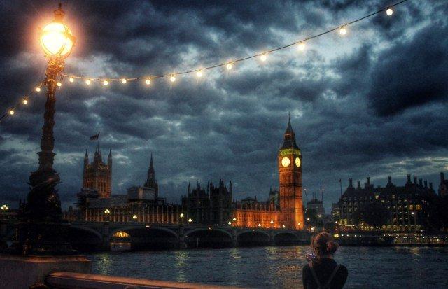 Fotografiando Londres al anochecer
