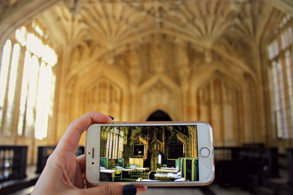 La enfermería de Harry Potter está en Oxford