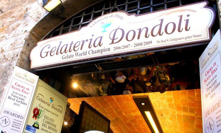 La mejor heladería del mundo está en San Gimignano