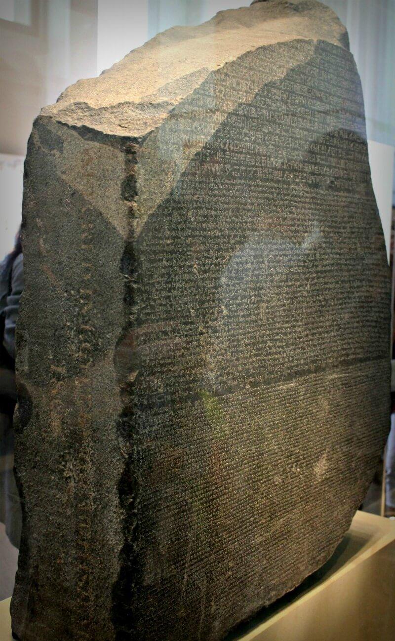 La Piedra Roseta - Qué ver en el Museo Británico de Londres