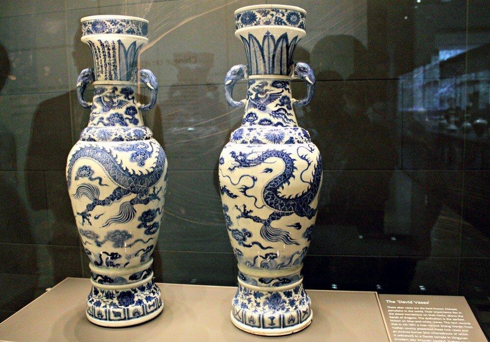 Las vasijas chinas de David