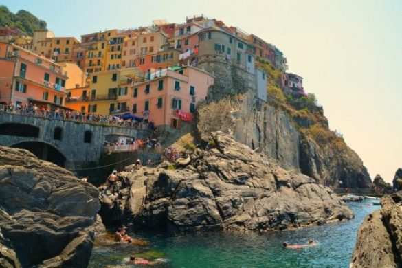 Manarola, el pueblo más famoso de la ruta por Cinque Terre