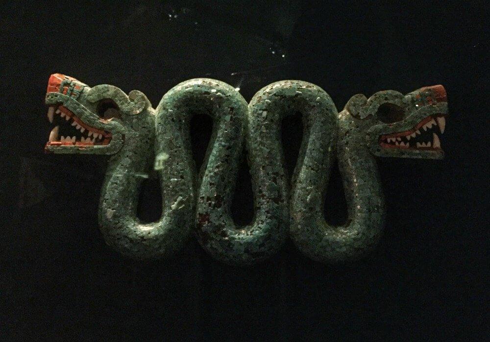 Serpiente de turquesas - Visitar el Museo Británico