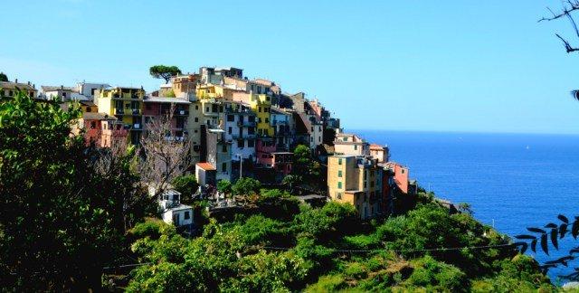 Sugerente Corniglia en Liguria
