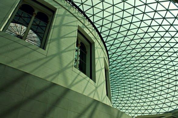Techo del Museo Británico de Londres