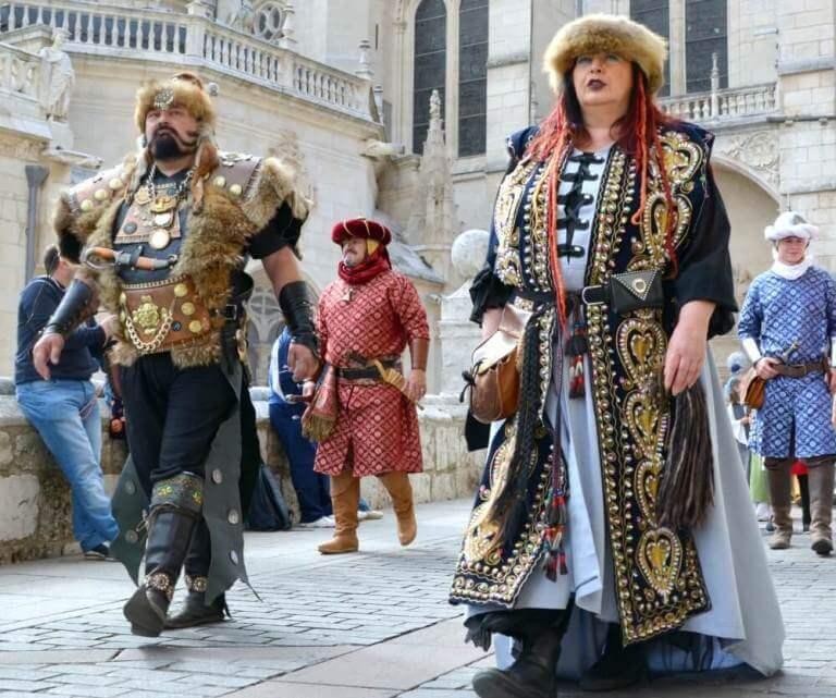Desfile del Fin de Semana Cidiano en Burgos