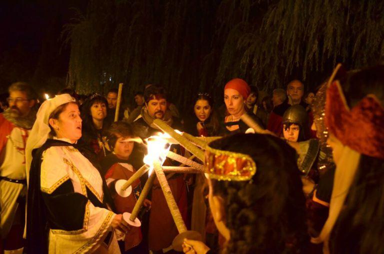 Desfile nocturno del Fin de Semana Cidiano