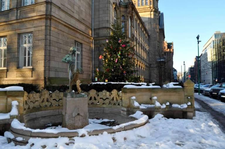 Dusseldorf en navidad