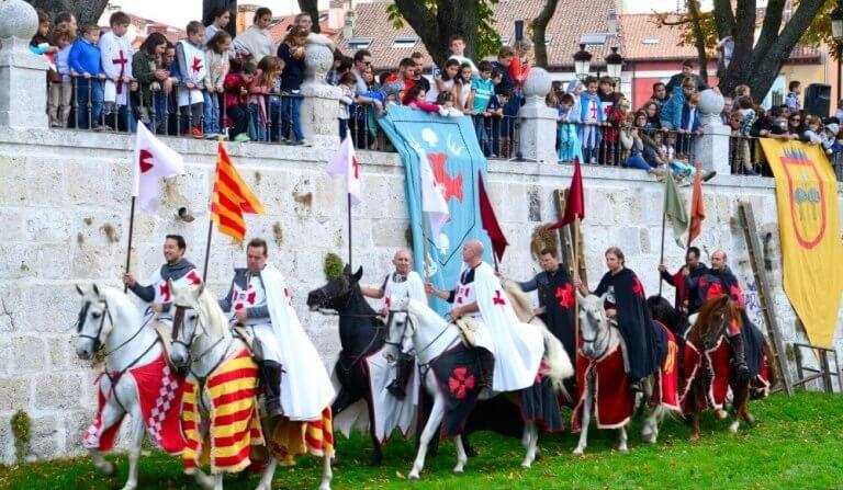 Justas en Burgos