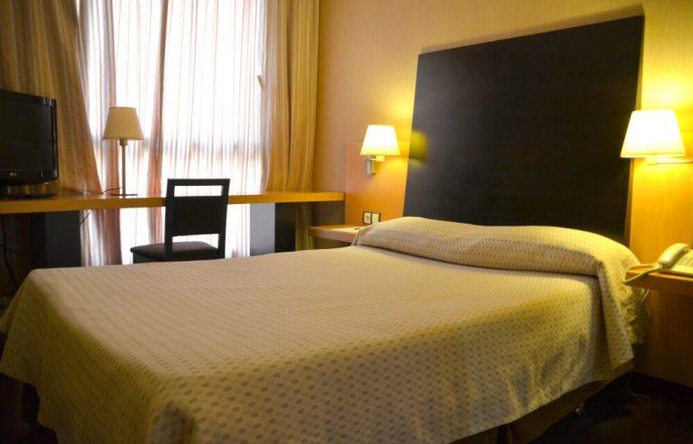 Mi habitación de hotel en Burgos