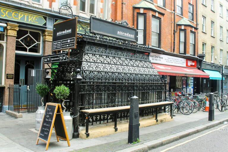 The Attendant Café en Londres
