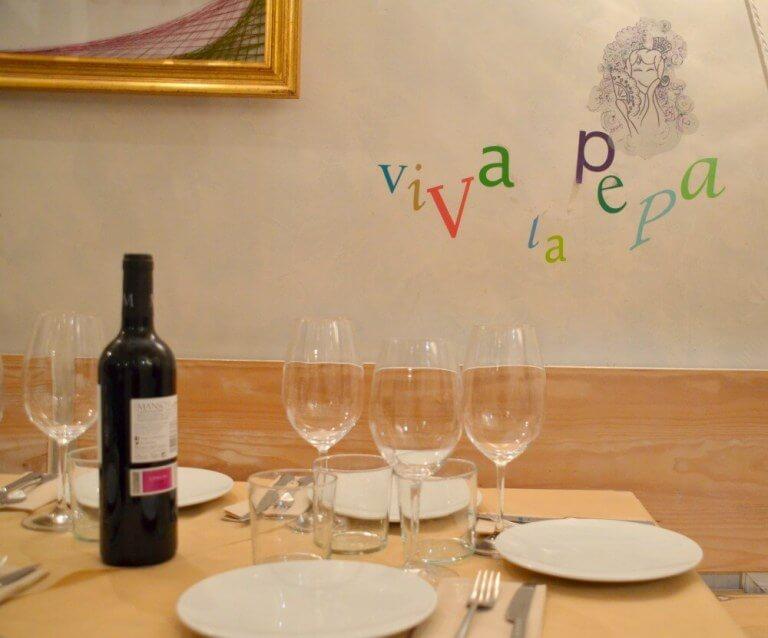 Viva la Pepa - restaurante de Burgos