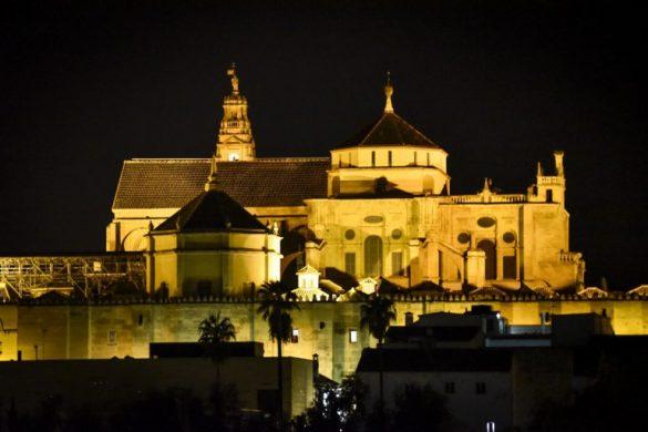 La Mezquita de Córdoba de noche