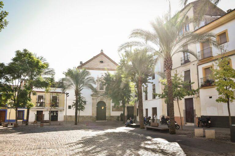 Plaza de las Cañas de Córdoba