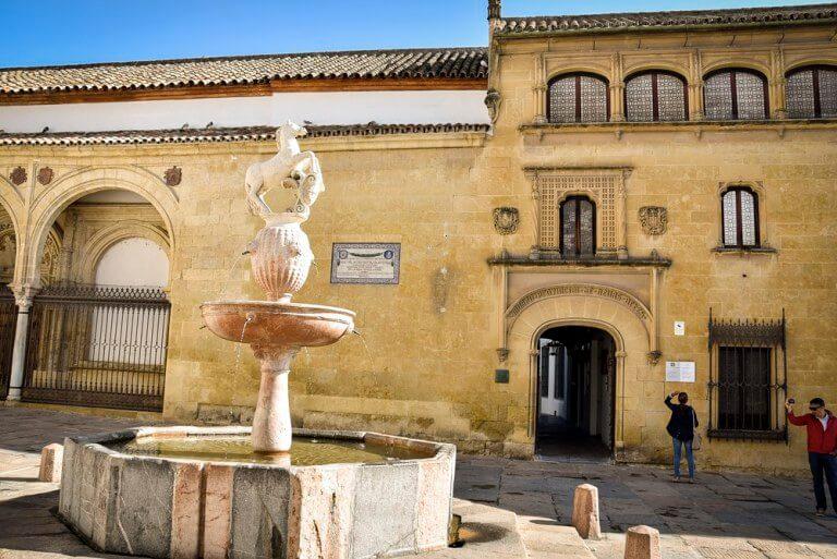 Plaza del Potro en Córdoba
