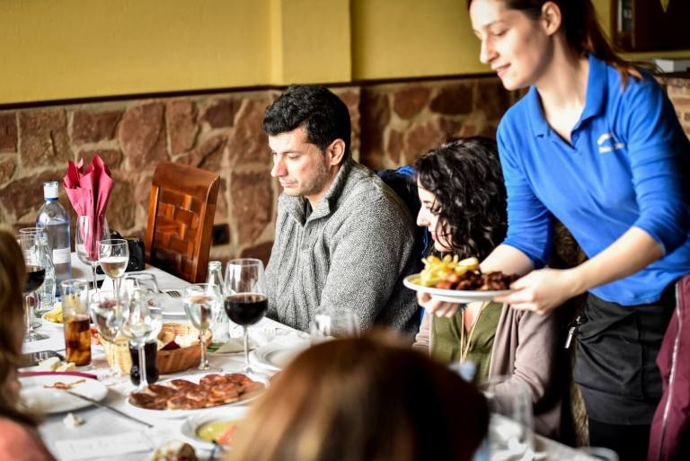Bar Pedro, poniéndonos finos en Fregenal de la Sierra