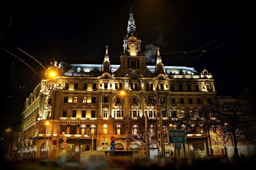 Edificio del Hotel Boscolo de Budapest