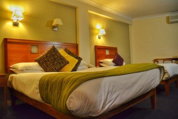 Habitación Hotel Imperial de Galway