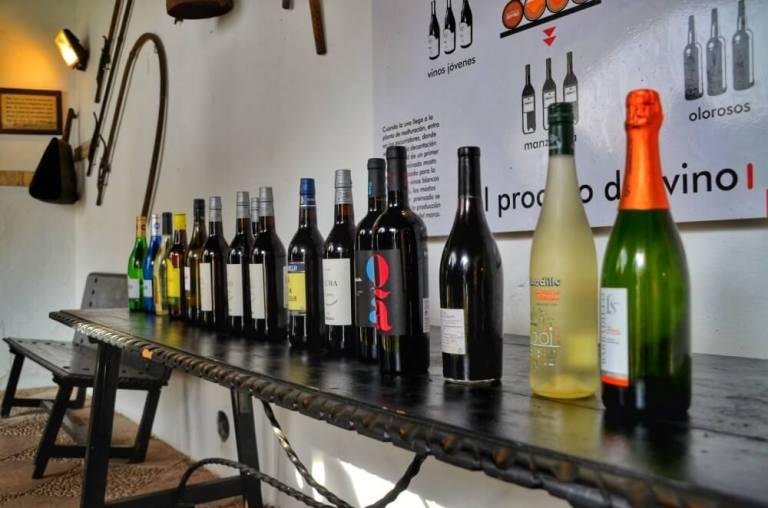 Botellas de vino Barbadillo