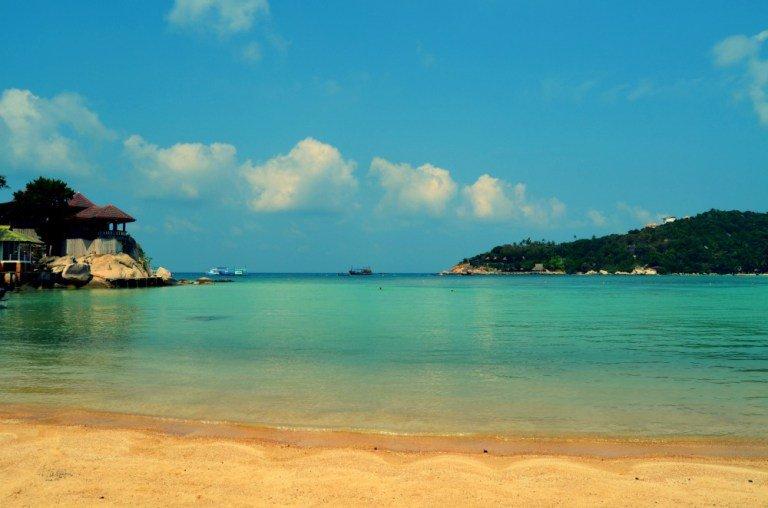 Paradisíaca playa de Koh Tao
