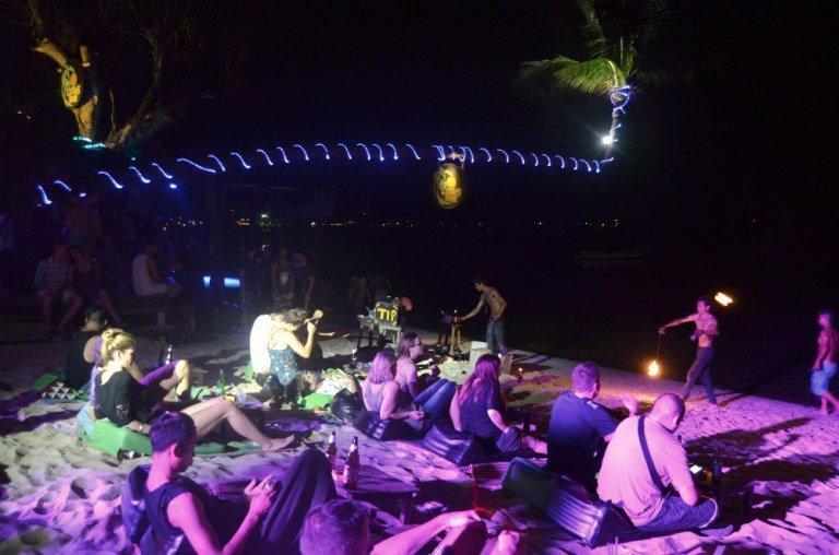 Salir de fiesta en Koh Tao