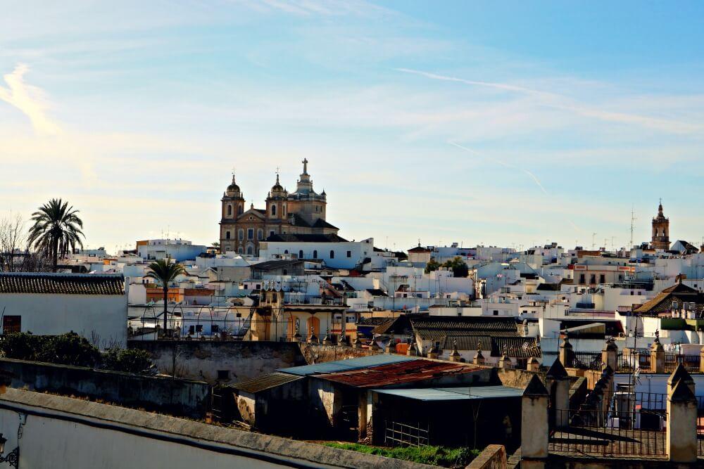 Vistas de Marchena y el Convento de San Agustín