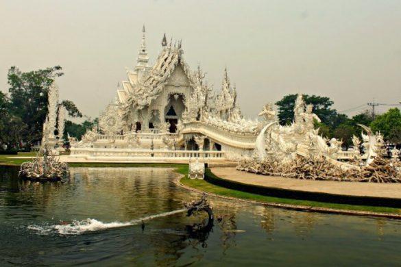 El Templo Blanco de Tailandia