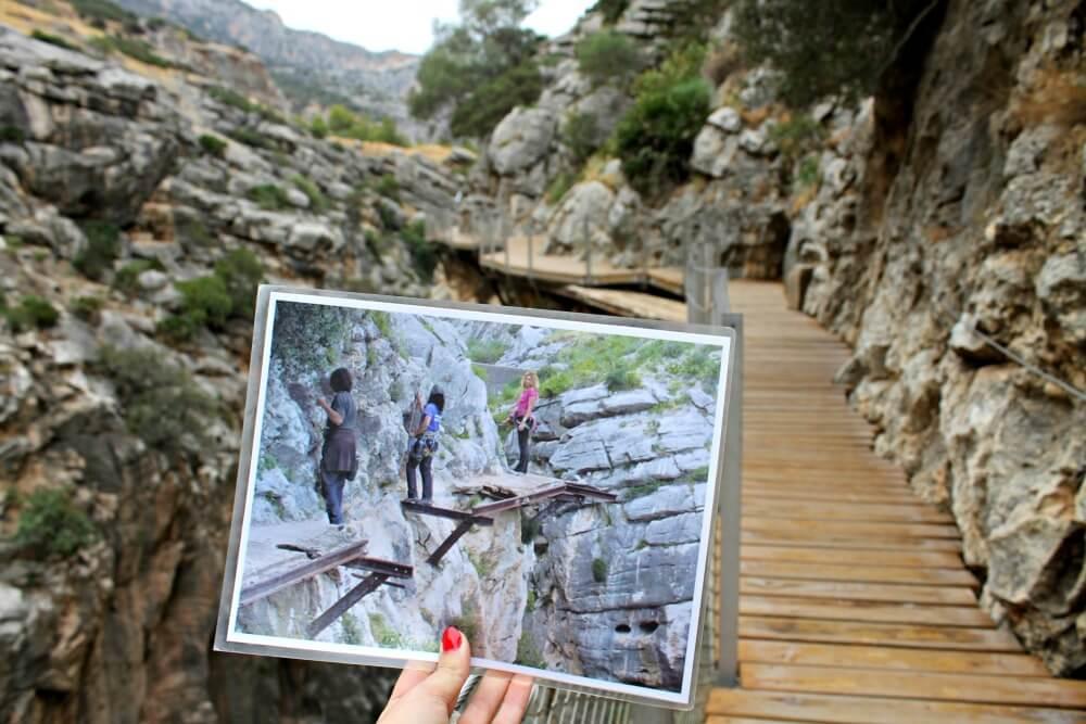 Grupo de aventureros recorriendo el prohibido camino