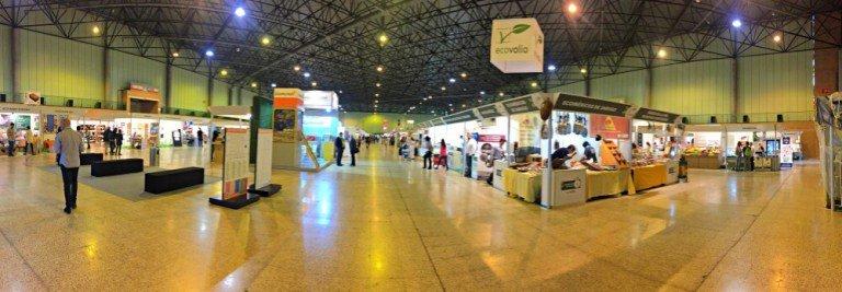 Puestos de la Feria de la Biocultura de Sevilla