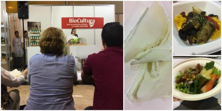 Showcooking en la Feria de la Biocultura