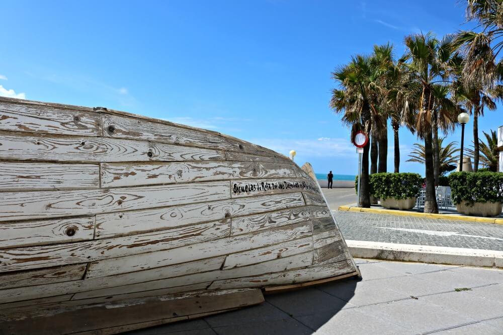 Barca de piedras - Intervenciones en Rota