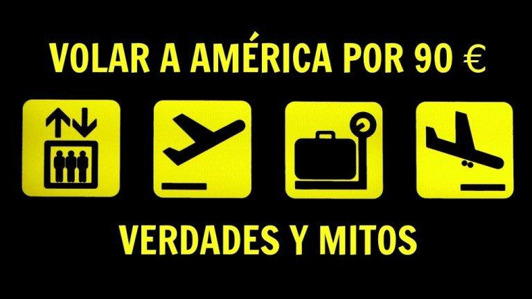 Volar a América barato con LEVEL