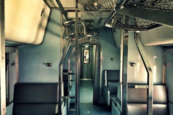 Asientos del tren nocturno de Bangkok a Chiang Mai