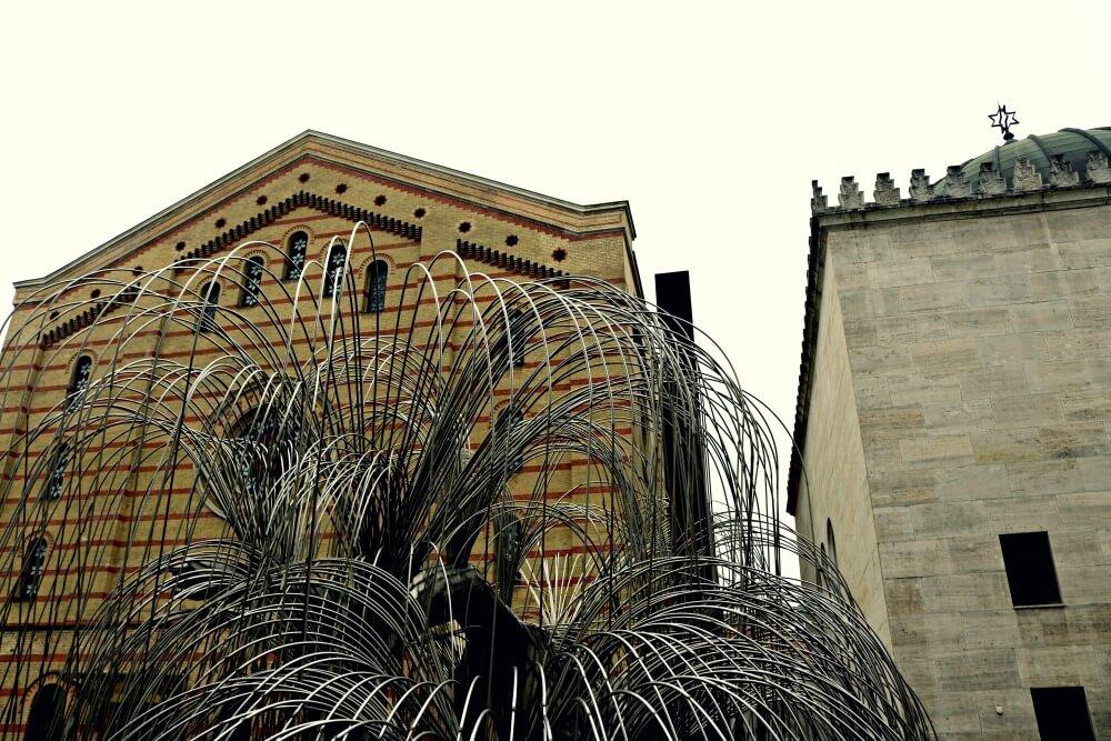 El Árbol de la Vida en la Sinagoga de Budapest