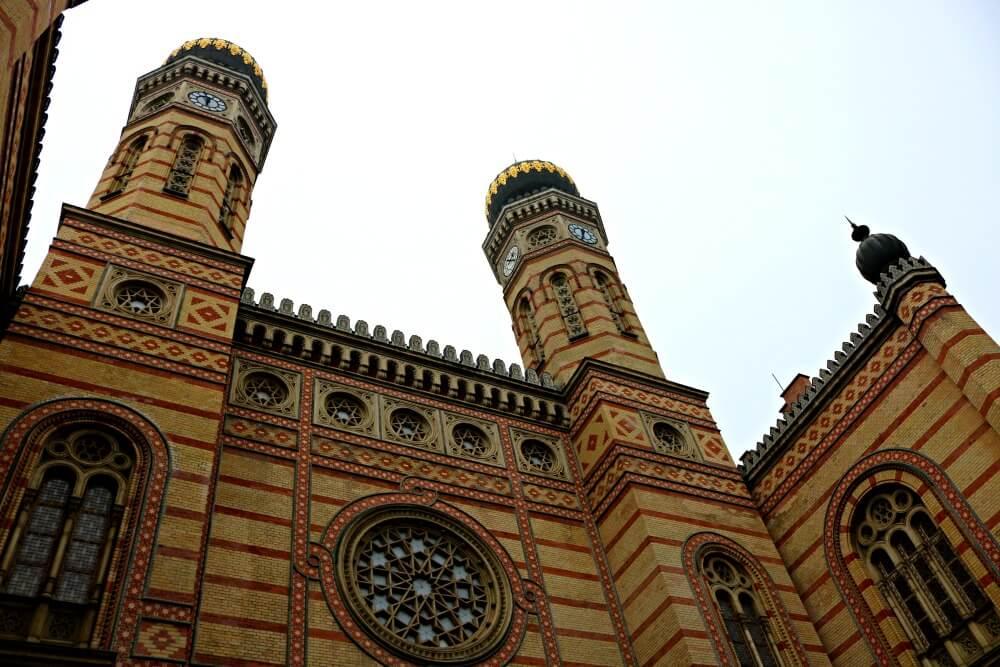 Torres de la Gran Sinagoga de Budapest