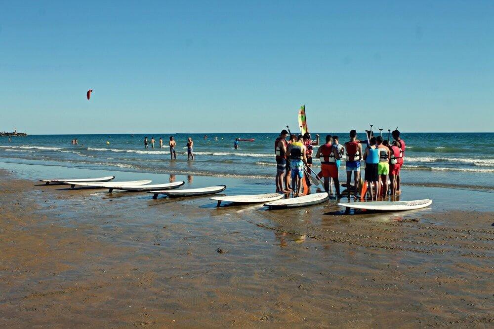 Deportes acuáticos en Punta Umbría
