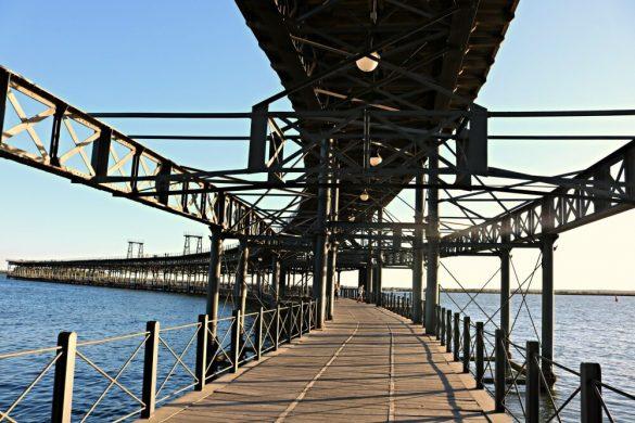 El Muelle del Tinto en Huelva