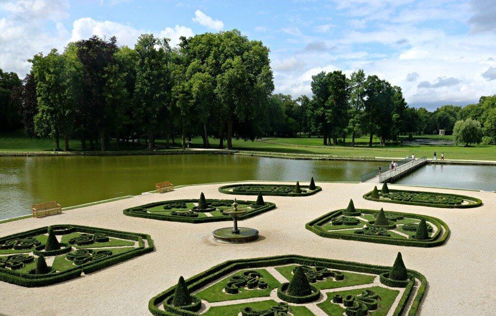 Jardines del Castillo de Chantilly