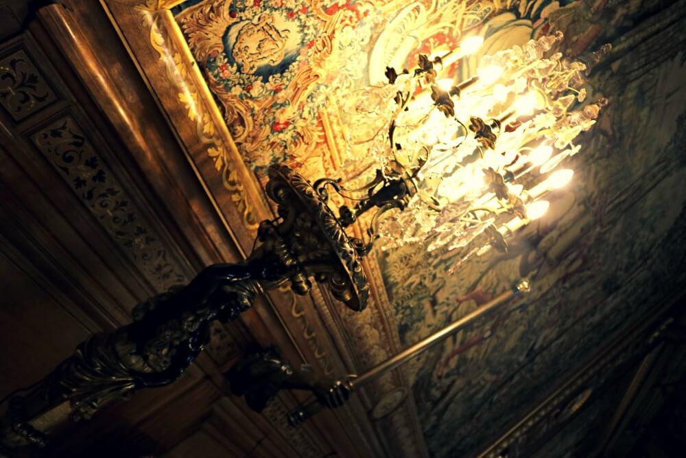 Los candelabros de Chantilly inspiraron La Bella y la Bestia