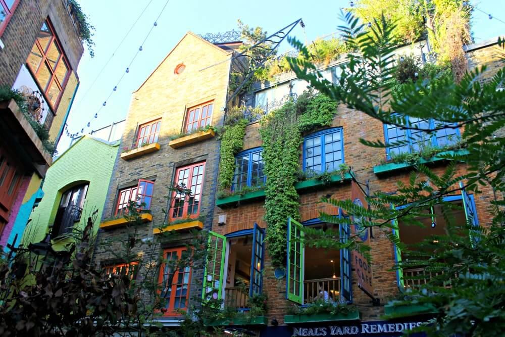 Neal's Yard, la colorida plaza que ver en Londres