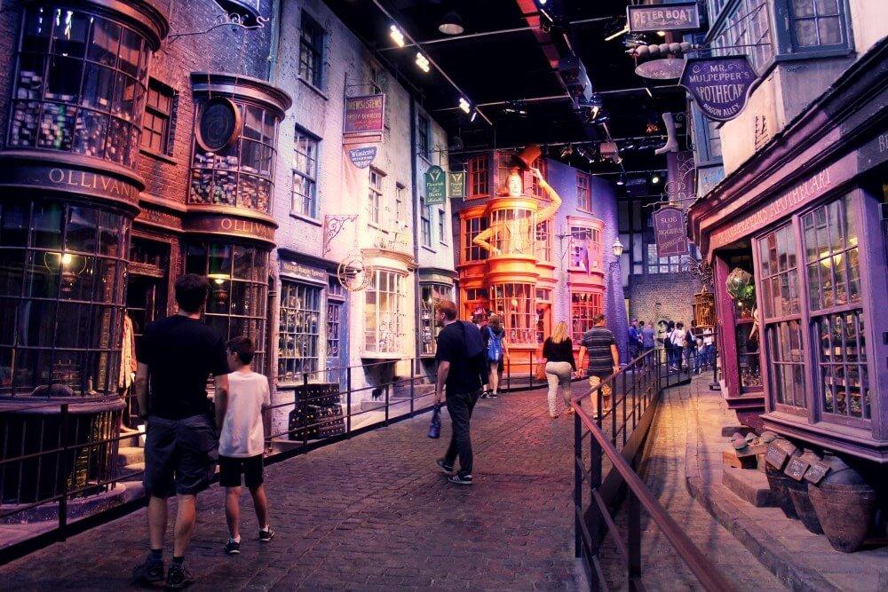 Paseando por los Estudios de Harry Potter - Londres con niños