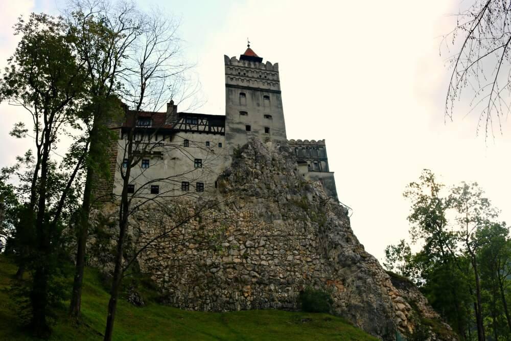 Castillo de Bran en Transilvania, el Castillo de Drácula en Rumanía