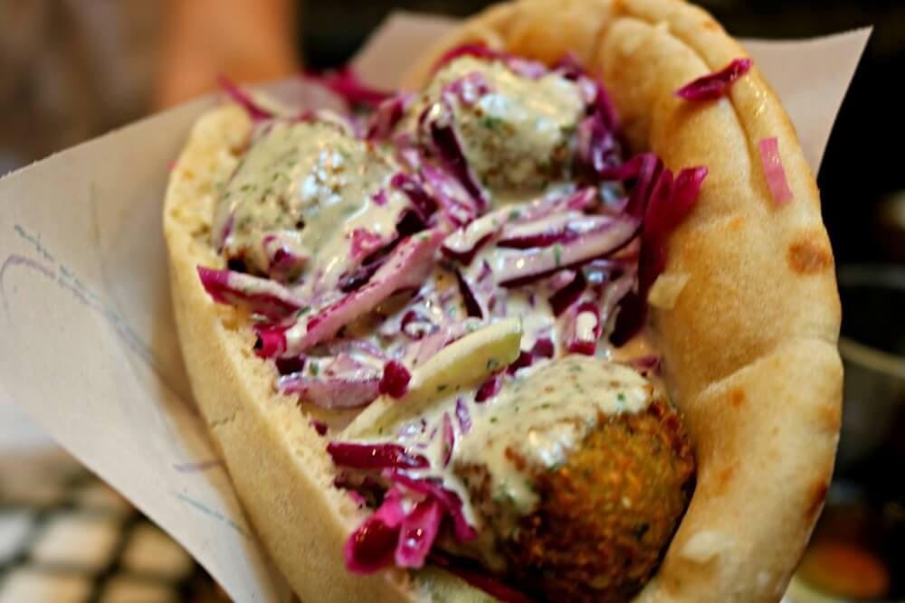 El mejor falafel del mundo en París