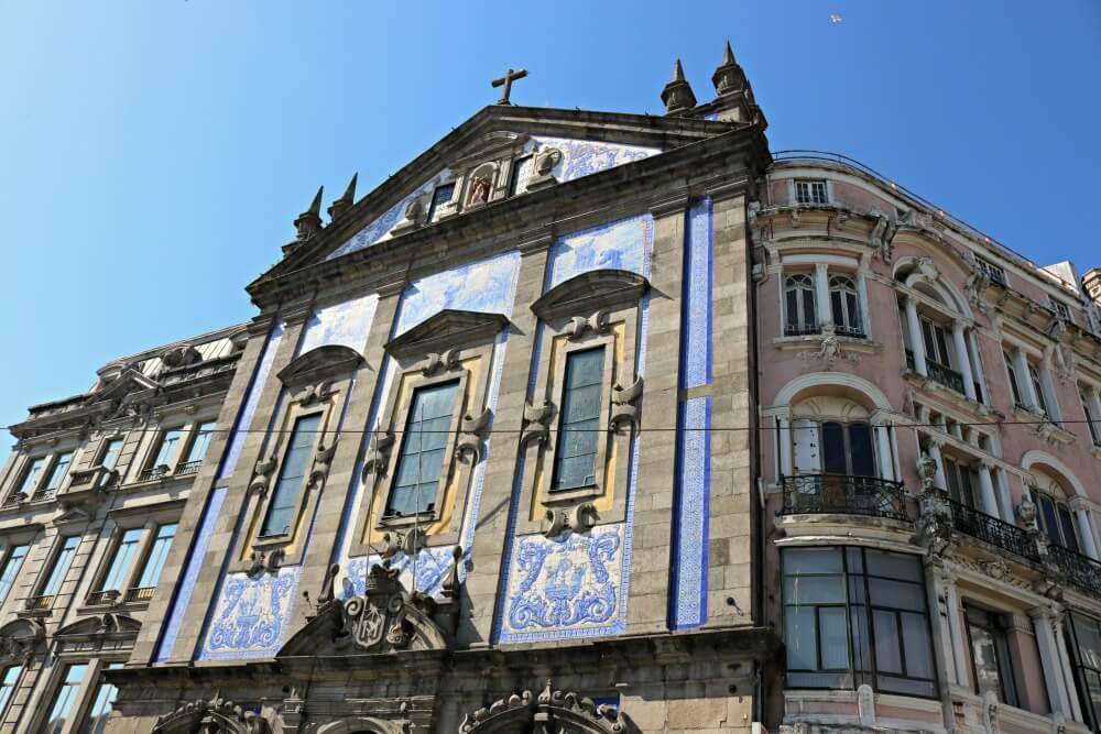 Iglesia de San Antonio de los Congregados - Ruta por los azulejos de Oporto