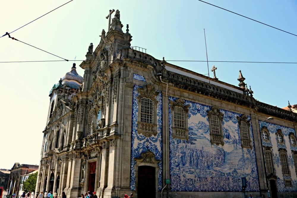 Iglesia do Carmo - Ruta por los azulejos de Oporto