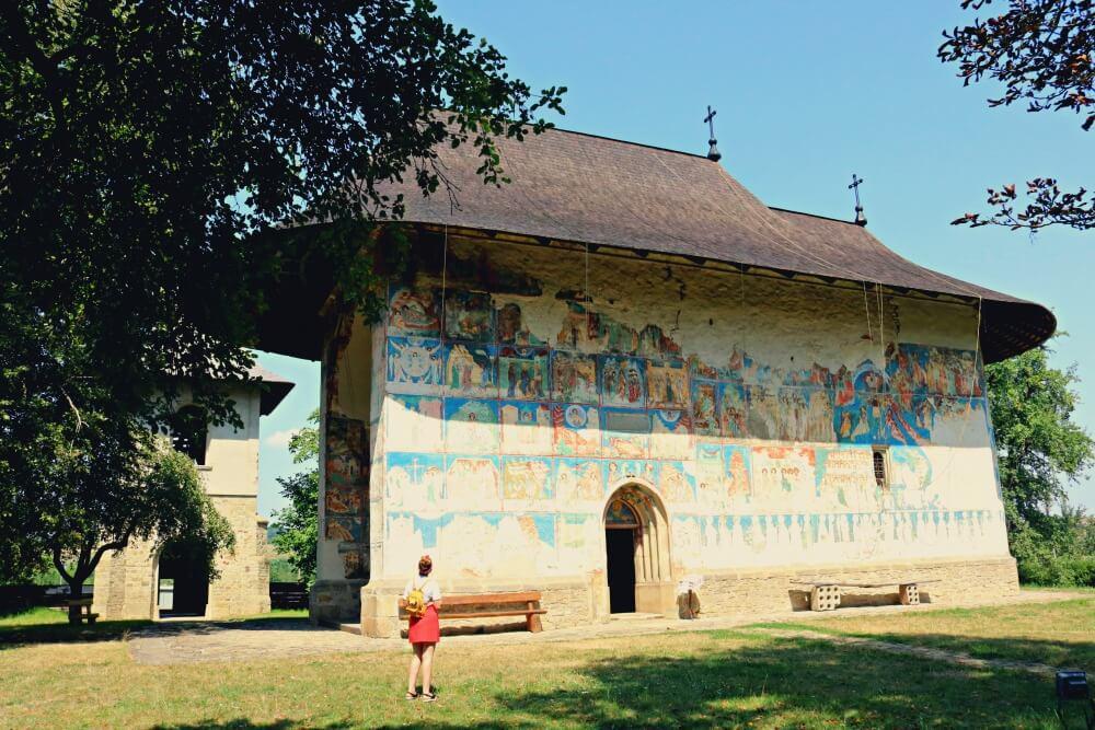 Monasterio de Arbore - Monasterios de Bucovina