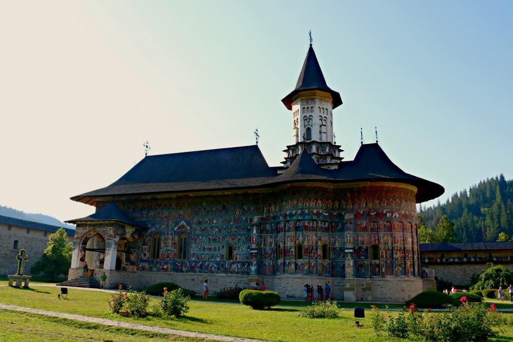 Monasterio de Sucevita - Monasterios de Bucovina