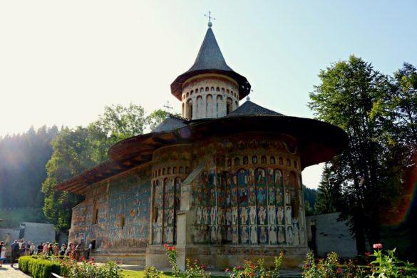 Monasterio de Voronet - Monasterios de Bucovina
