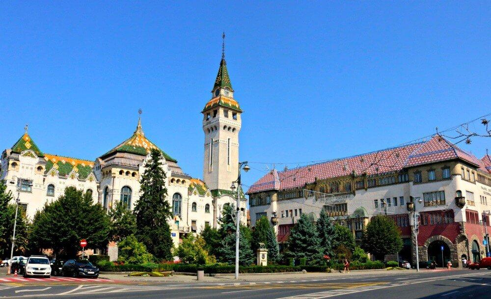 Palacio de la Cultura de Targu Mures - Viajar a Rumanía por libre
